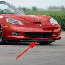 c6 corvette amazon com c6 corvette gs zo6 front chin spoiler sections fits