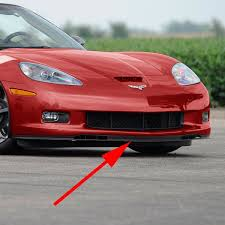 corvette c6 grand sport amazon com c6 corvette gs zo6 front chin spoiler sections fits