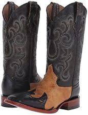 ferrini s boots size 11 ferrini 7219362080 marble cowhide boot black s toe size 8 ebay