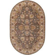 rizzy home caterine taupe trellis 8 ft x 10 ft area rug