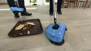 Hardwood Floor Broom Easyedge Lightweight Hard Floor Sweeper On Qvc Youtube