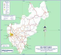 Mexico Road Map by Queretaro Mexico Road Map World Atlas Size 1500x1350