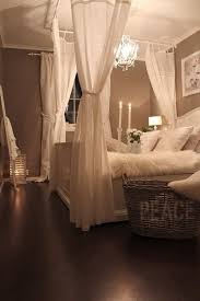 How To Decorate A Canopy Bed Romantic Bedroom On A Budget U2022 The Budget Decorator