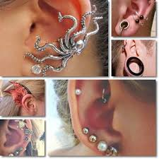 ear cuffs for pierced ears ear piercings risks infection and treatment natureword