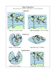 Map Projection Geography 7 Lab 6 Map Projections