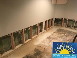 basement waterproofing in ridley park pa by jamison basement