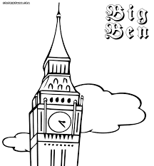 big ben coloring pages coloring pages to download and print