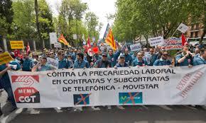 Huelga Flag File Huelga De Técnicos Telefónica Movistar 2015 04 Jpg