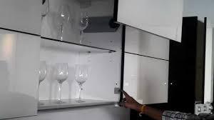 Automatic Cabinet Door Closer Electric Door Opener In Kitchen