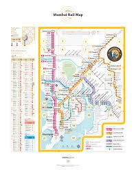 6 Train Map Projects Mumbai Rail Map
