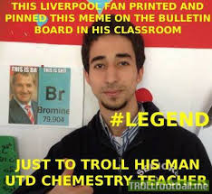Who Is This Meme - this liverpool fan printed this meme pinned it in his classroom