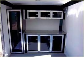 race car trailer cabinets 77 enclosed car trailer cabinets apartment kitchen cabinet ideas
