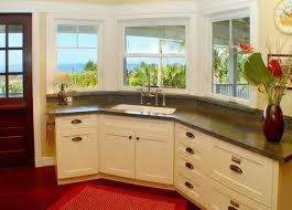 corner kitchen sink design ideas corner sink kitchen robinsuites co