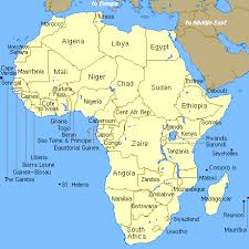 africa map study index of project images