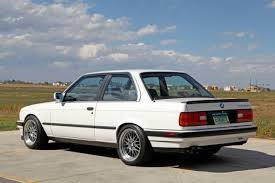 1988 bmw 325is 1988 bmw e30 325is alpine white black leather plastic bumpers