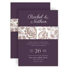 purple and silver wedding invitations purple wedding invitations invitations by