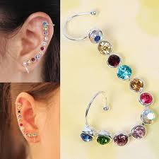 ear earings reiki healing magic earrings no piercing required pair