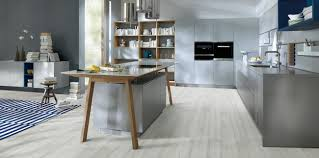 German Designer Kitchens by Next125 Nx500 Handle Less Designer German Kitchen In Stone Grey
