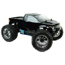 rc monster truck nitro 1 10 4x4 bug crusher nitro remote control truck 60mph black
