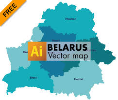 map of belarus free vector map of belarus graphic flash sources
