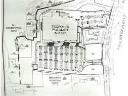 Walmart Floor Plan Walmart Proposes New Route 6 Supercenter And Fantasyland