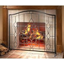 modern fireplace screen canada screens toronto contemporary 317