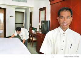 House Keeping by Room Boy Or Housekeeping At Hotel Stock Picture I1653839 At