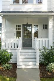 farmhouse porches curb appeal makeover with lowe s before pictures and inspiration