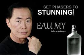 George Takei Oh My Meme - eau my cologne george takei know your meme