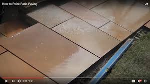 Patio Jointing Compound How To Point Your Patio Marshalls Marshalls