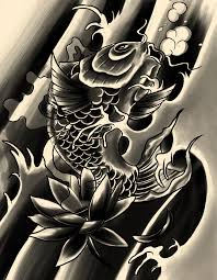 black koi by xfreakcorex on deviantart