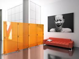 Modular Room Divider Furniture Awesome Modular Room Divider Design With Orange