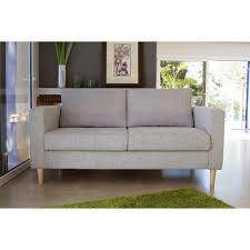 achat de canapé wood canapé droit 3 places tissu gris clair achat vente canapé