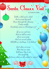 christmas poems for kids christmas celebrations