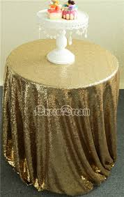 48 Round Tablecloth Gold Round Tablecloth Promotion Shop For Promotional Gold Round