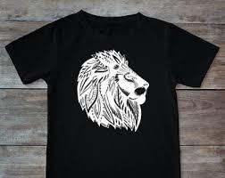 henna lion etsy