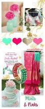 Colour Scheme Colour Scheme Fridays Mint U0026 Pinks Marigold Tales
