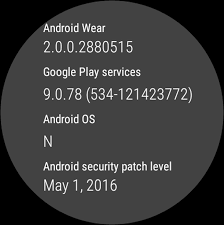 update os android android wear 2 0 preview on a huawei significant ui changes