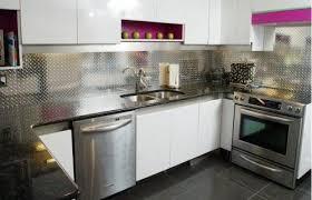 stainless steel kitchen backsplash panels aluminium splashback alternative to tiles no grout easier