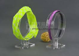 headband stand high quality 10pcs lot acrylic headband display rack