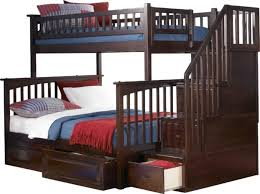 Solid Wood Bunk Beds With Storage The Most Attractive Solid Wood Bunk Beds Intended For Property
