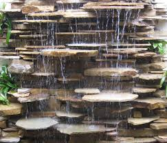 35 rock waterfall fountain outdoor wall rock fountains fountain