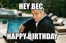 Happy Birthday Meme Generator - meme creator hey bec happy birthday meme generator at