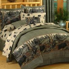 theme comforters the bears rustic comforter bedding