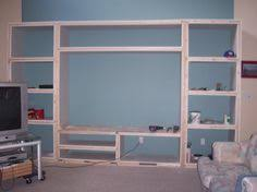 Built In Bookshelf Plans Free How To Build A Bookcase Step By Step Woodworking Plans