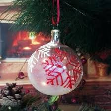 personalized glass ornaments zoom personalized