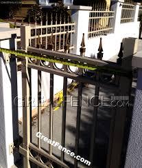 aluminum fence panels metal fence panels greatfence com