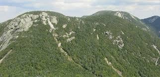 Narrow Picture Ledge Saddleback Mountain Lake Placid Adirondacks
