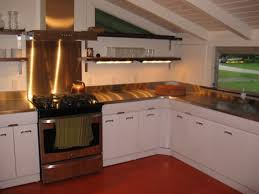Refinishing Wood Cabinets Kitchen Steel Kitchen Cabinets History Design And Faq Retro Renovation