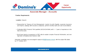 domino u0027s pizza pakistan linkedin